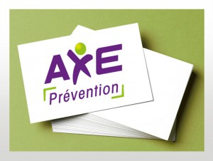 Carte de visite Axe