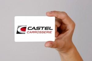 Castel carrosserie logo