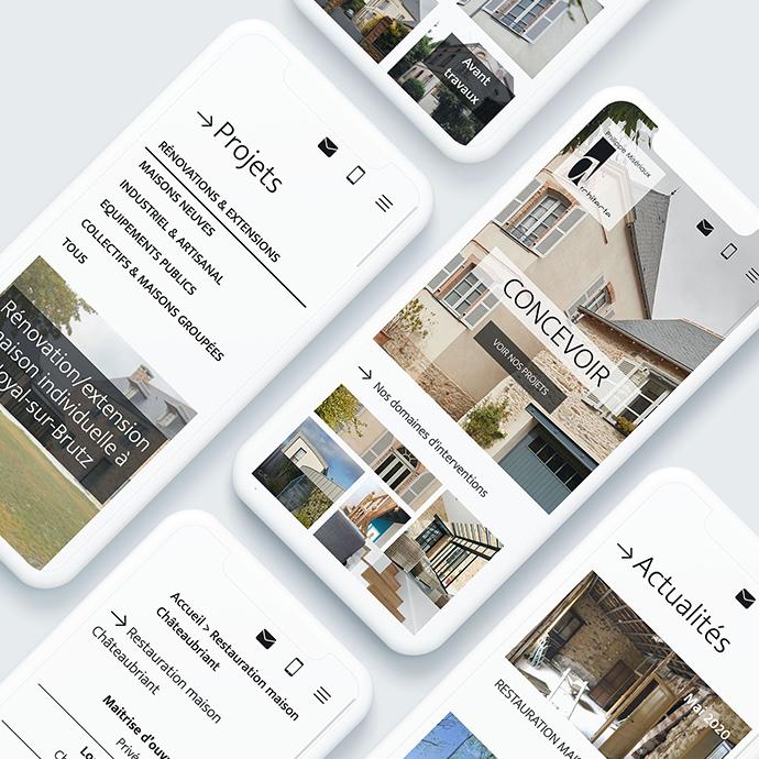 Digital et numérique - Site web d'Architecte Misériaux