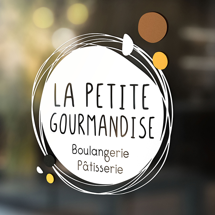 Identité - Logo de la Petite Gourmandise