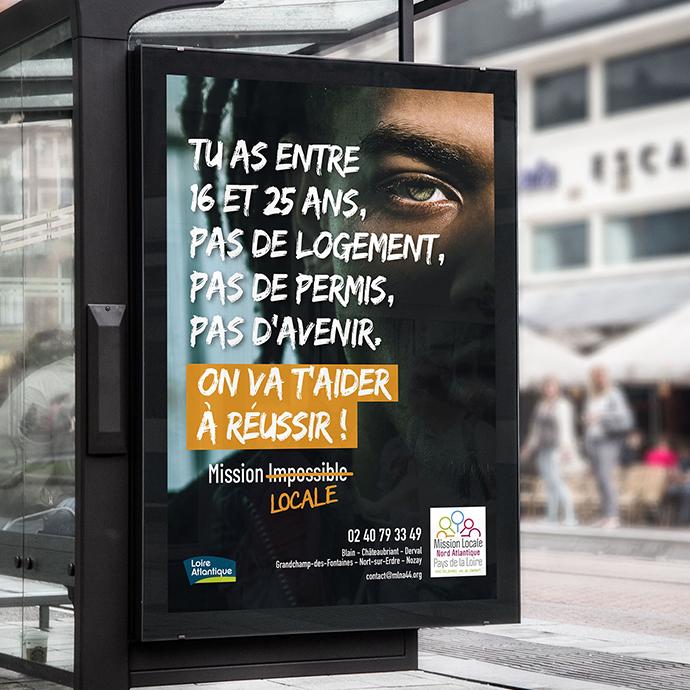Publicité - Campagne Mission Locale