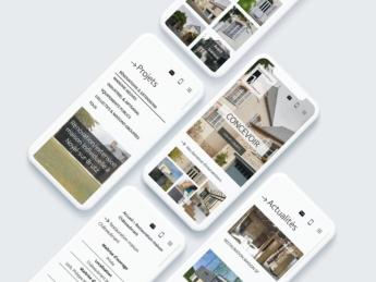 Webdesign - Pages responsives - Architecte Misériaux