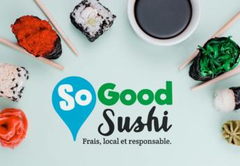 Logo - So Good Sushi