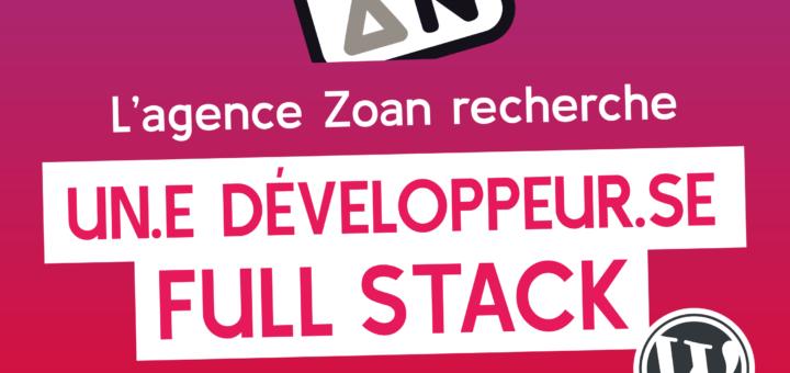 Projet L'équipe Zoan recrute !